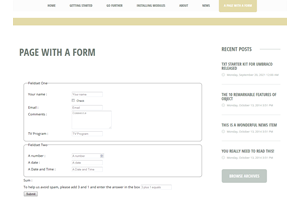 Easy Umbraco Forms