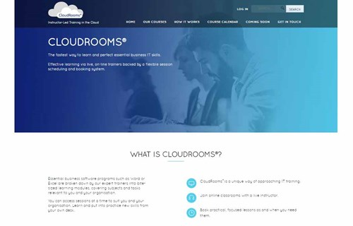 Cloudrooms homepage